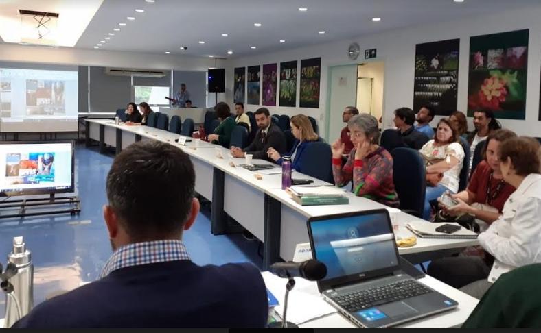 Representantes da prefeitura de São Sebastião estiveram na reunião realizada no Consema, na capital. Foto: PMSS